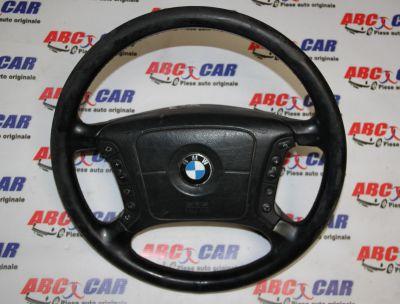 Volan din piele cu comenzi+airbag BMW Seria 5 E39 1998-2004