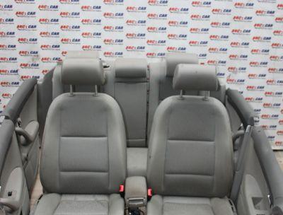 Interior textil gri cu incalzire Audi A4 B7 8E 2005-2008