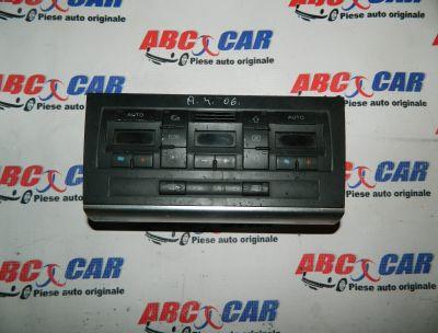 Panou comanda clima Audi A4 B6 8E 2000-2005 Cod: 8E0820043