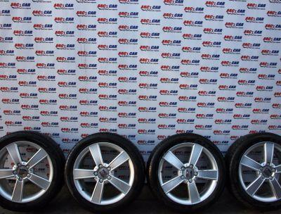 Jante aliaj 5X112 cu anvelope de vara PIRELLI 225/45 R17 Seat Leon 1P1 2006-2012 1P0601025C