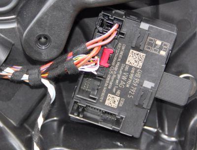 Modul usa stanga fata VW Touareg (7P) 2010-2018 4H0959792S