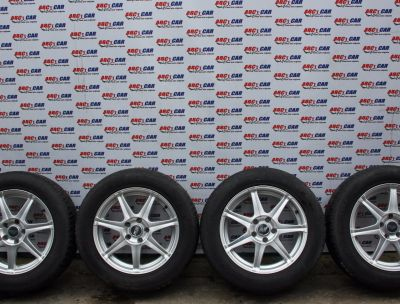 Set jante aliaj Dodge Caliber 2007-2012 cu anvelope M+S 215/60 R17
