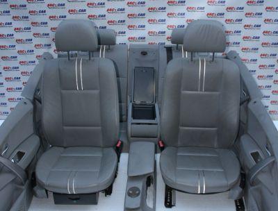 Interior din piele gri cu incalzire BMW X3 E83 2003-2010