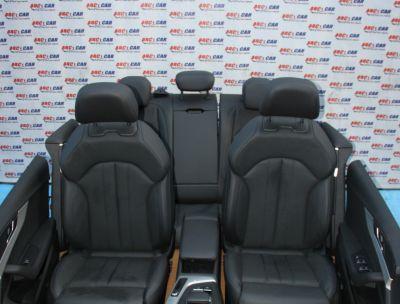 Interior electric din piele neagra Audi A5 (F5) sportback 2016-prezent