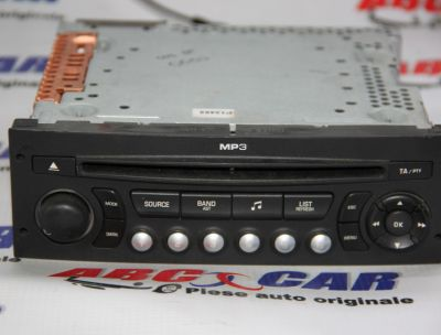 Radio CD Peugeot 207 2006-In prezent 96660454XT01