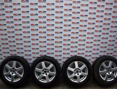Set jante aliaj cu anvelope M+S 195/65 R15 Ford Focus 2 2005-2011 KBA 46659