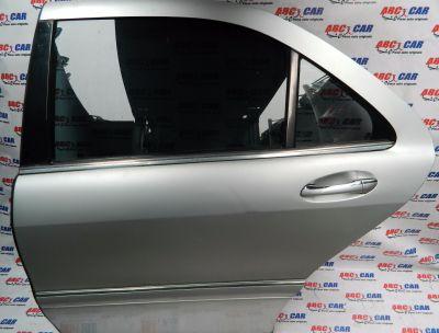 Geam mobil usa stanga spate Mercedes S-Class W220 1999-2005