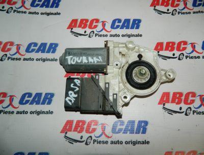 Motoras macara usa dreapta spate VW Touran 1 2003-2009 Cod: 1K0959794