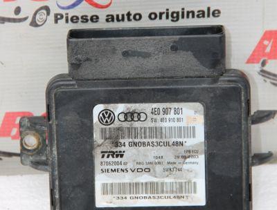Modul frana de mana Audi A8 D3 4E 2003-2009 4E0907801