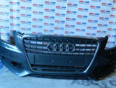 Bara fata model cu senzori, spalatori, grila si proiectoare Audi A4 B8 8K 2008-2012