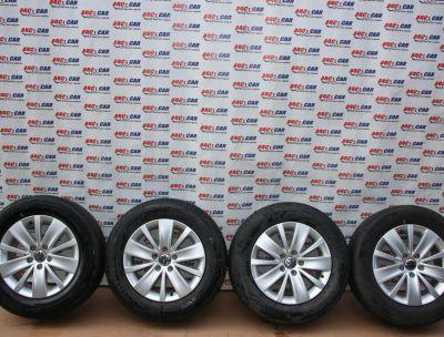 Set jante aliaj R16 VW Sharan (7N) 2010-prezent, 6.5Jx16H2, ET33, 5x112 7N0601025K