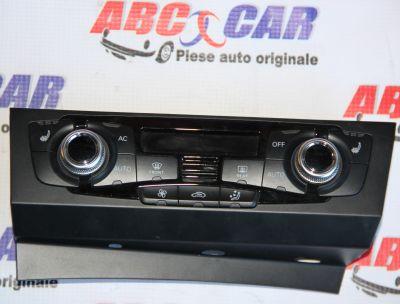 Panou climatronic Audi A5 (8F) 2012-2015 8K1820043T