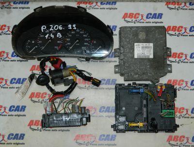 Ceasuri de bord Peugeot 206 1999-2010 1.4 Benzina 9643401280