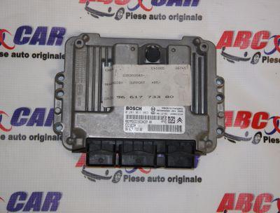 Calculator motor Citroen C4 1 2004-2010 1.6 HDI 9661773380