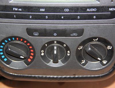 Panou comanda AC Fiat Grande Punto 2006-2012 7354845220