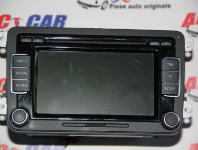 Radio CD RCD 510 VW Passat B6 2005-2010 3C8035195F
