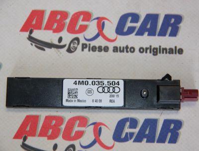 Amplificator antena Audi A4 B9 8W 2015-In prezent 4M0035504