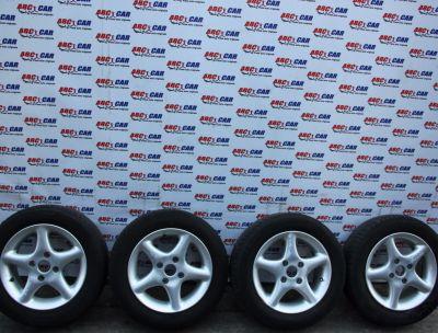 Set jante aliaj cu anvelope M+S 185/60 R14 Ford Fiesta 5 2002-2008 KBA 43508