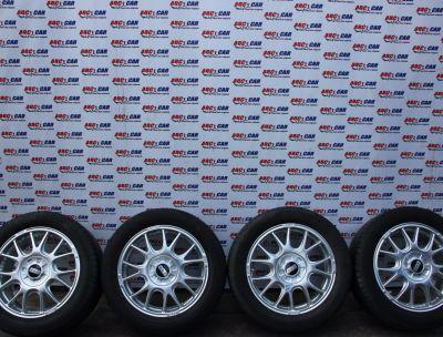 Set jante aliaj BBS cu anvelope de vara PIRELLI 235/50 R17 Ford Focus 2 2005-2011