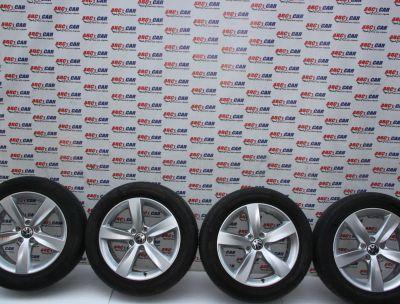 Set jante aliaj R17 VW Sharan 7N 7.0JX17H2 ET38 5X112 cod: 7N0601025H 2010-prezent