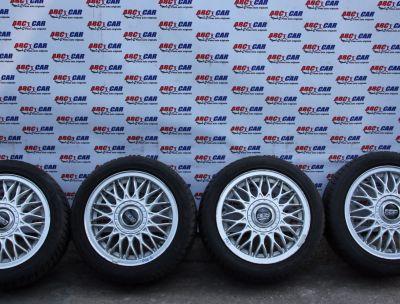 Set jante aliaj BBS cu anvelope M+S 195/50 R15 VW Polo 9N 2004-2008