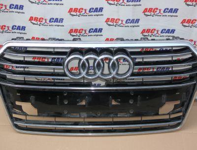 Grila bara fata Audi A7 4G 2015-2018 facelift 4G8853651G