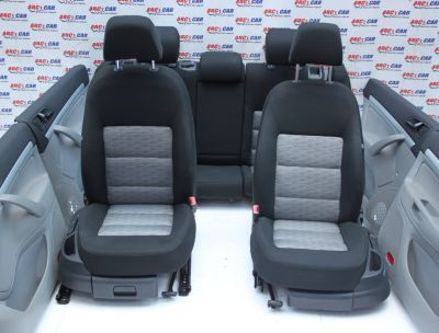 Interior textil complet Skoda Octavia 2 (1Z3) facelift 2009-2013