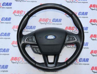Volan din piele cu comenzi Ford Focus 3 facelift 2015-2018