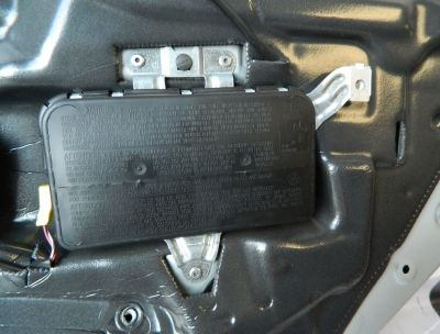 Airbag usa stanga spate Mercedes CLS W219 2004-2010
