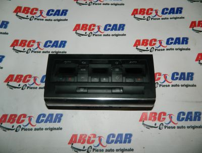 Panou comanda clima Audi A4 B6 8E 2000-2005 Cod: 8E0820043H