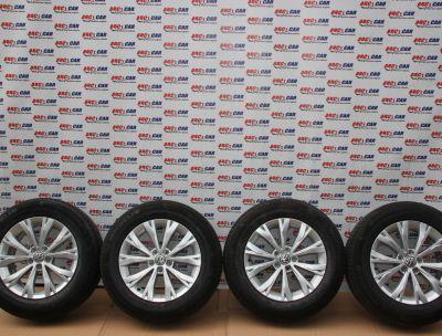 Set jante aliaj Borbet R17, ET40 VW Tiguan (AD1) 2016-In prezent 5NA601025