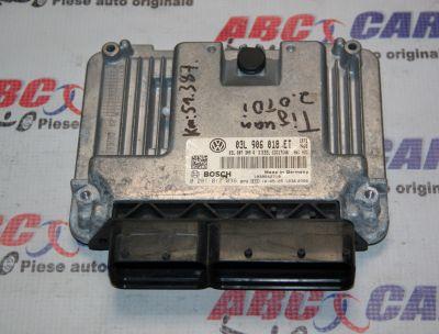 Calculator motor VW Tiguan 5N 2.0 TDI cod: 03L906018ET model 2010