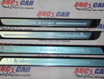Set ornamente praguri Audi A3 8V E-Tron 2014-prezent 8V4853491A, 8V4853491D