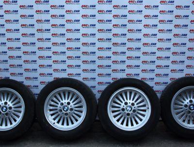 Set jante aliaj cu anvelope de vara 225/55 R16 BMW Seria 3 E46 1998-2005 1092209