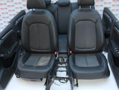 Interior din piele si material Audi A3 8V Sportback 2012-2020