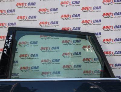 Geam mobil usa stanga spate Audi A3 8V Sportback 2012-2020