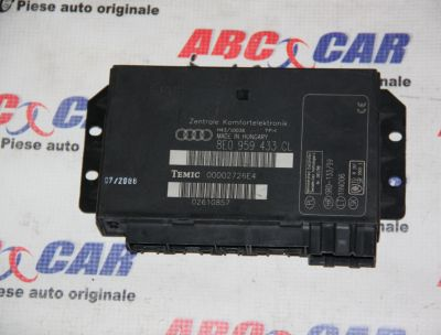Calculator confort Audi A4 B6 8E 2000-2005 8E0959433CL
