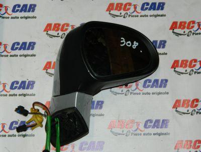 Oglinda dreapta electrica Peugeot 308 2007-In prezent
