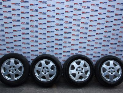 Set jante aliaj cu anvelope M+S 195/65 R15 Opel Zafira A 1999-2005