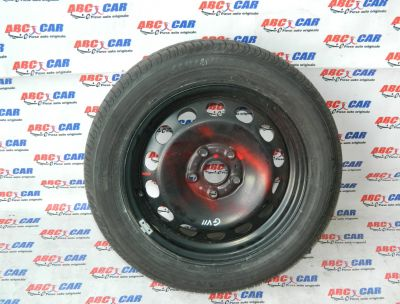 Janta din tabla cu anvelopa 205/55/R16 VW Golf 7 2014-In prezent