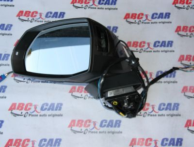 Oglinda stanga (13 fire) cu camera Audi Q7 4M 2016-prezent