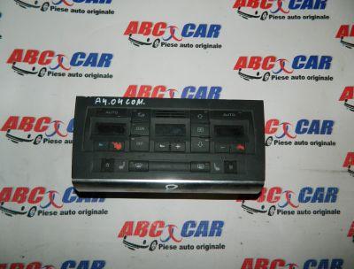 Panou comanda clima Audi A4 B6 8E 2000-2005 Cod: 8E0820043J