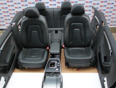 Interior din piele Audi A5 (8F) cabrio 2012-2015