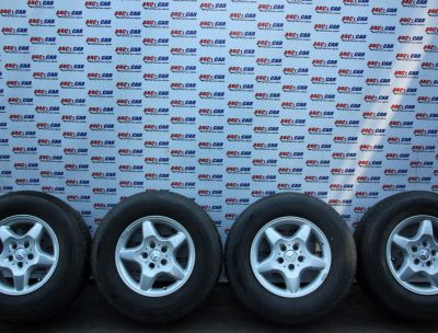 Set jante aliaj cu anvelope M+S 255/65 R16 Mercedes ML-Class W163 1997-2005 1534010202