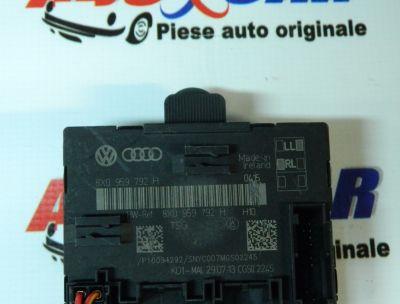 Modul control usa dreapta fata Audi A1 8X 2010-In prezent 8X0959792H
