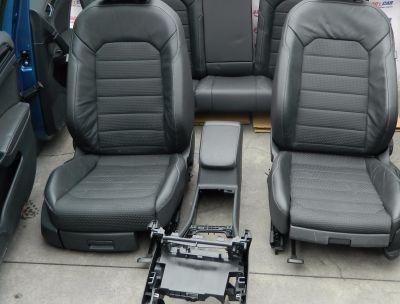 Interior complet piele cu textil VW Golf 7 variant 2013-In prezent