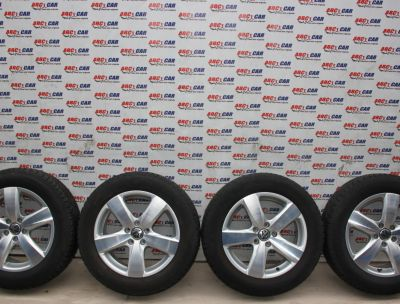 Set jante aliaj R17 VW Tiguan (5N) 2007-2016 6.5Jx17H2, ET33, 5X112, cod: 5N0601025AG