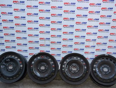 Set jante tabla R15 VW Golf 5 2005-2009 1K0601027C