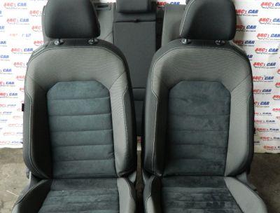 Interior textil cu piele alcantara VW Golf 7 coupe 2014-In prezent