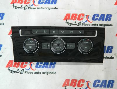 Panou climatronic VW Golf 7 2014-2020 Cod: 5G0907044R